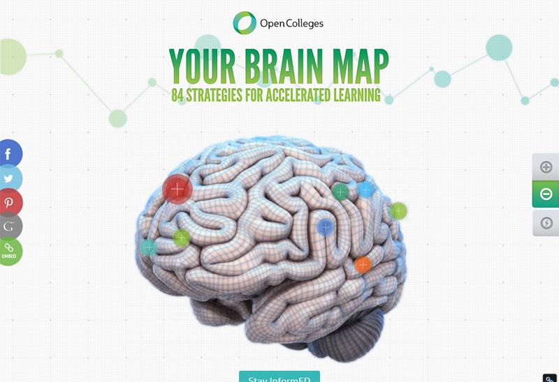 Site Internet Brain Map