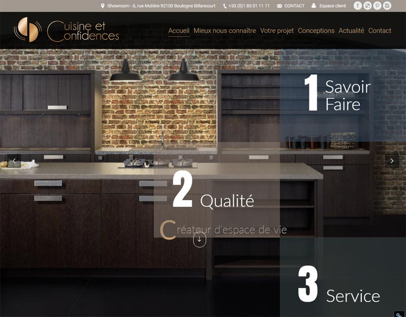 benchmark de 5 sites web originaux pydigital. Black Bedroom Furniture Sets. Home Design Ideas